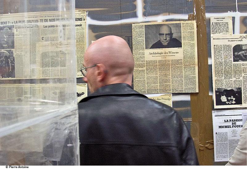 24h Foucault Thomas Hirschhorn