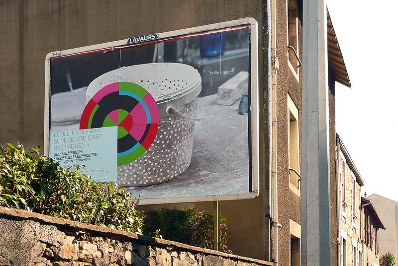 Campagne affichage Ensa Limoges