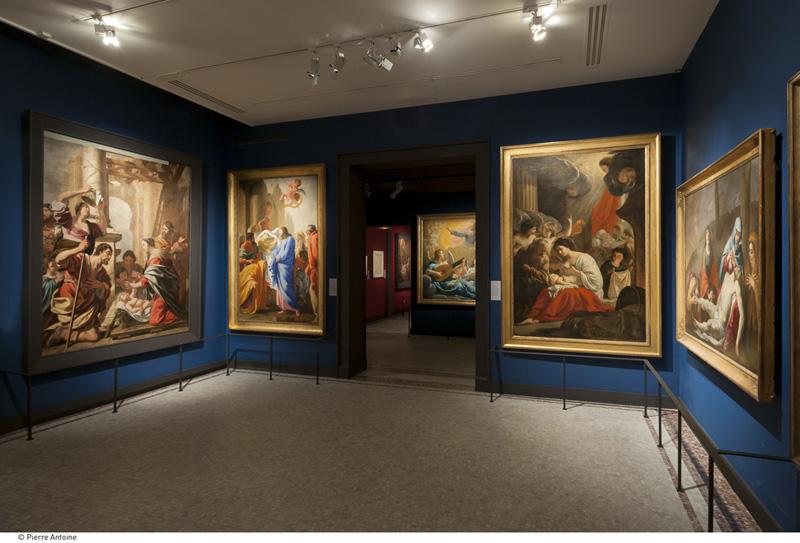 Peinture du XVIIIeme dans les églises parisiennes