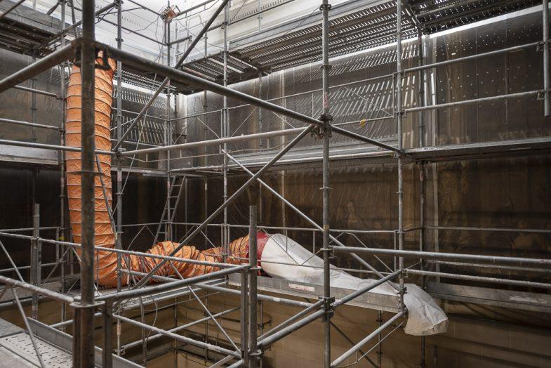 Reportage sur le chantier du musée Carnavalet.